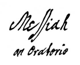 George Frideric Handel's autograph manuscript of the title page of Messiah, 1741
