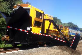 "Dubbed ""Darth Vader"" this $1.5 million train has so far only been used to dig ditches."