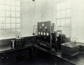 Early KDKA transmitter