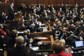 Conn. Governor Dannel Malloy announced his proposal to increase the minimum wage during his State of the State Address on February 6th, 2013.