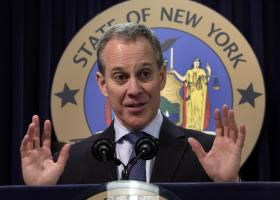 New York State Attorney General Eric Schneiderman (file, 2013)