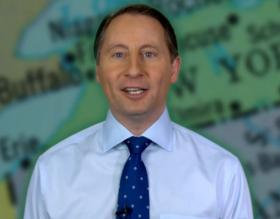 Westchester County Executive Rob Astorino announced his candidacy on YouTube on Wednesday.