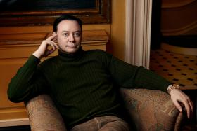 Writer Andrew Solomon, whose article about Peter Lanza appears in the New Yorker