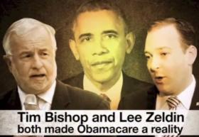 George Demos is spending on ads like these to attack Lee Zeldin and Tim Bishop