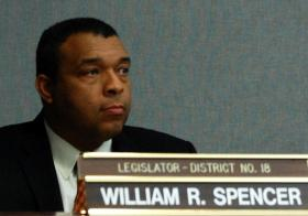 Dr. William Spencer (D-Huntington) authored the bill increasing tobacco purchase age to 21