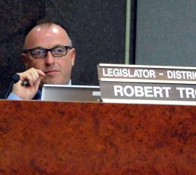 Robert Trotta (R-Smithtown) wants Suffolk cops to have same requirements as police in region