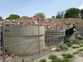 A second illegal dumping site containing asbestos found in Central Islip