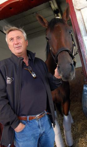 """""""You always have to count your fingers after you shake their hand,"""" says horse trainer Rick Violette."""
