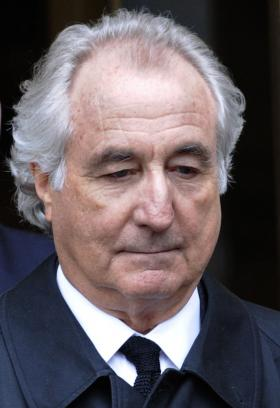 Bernard Madoff in March 2009.