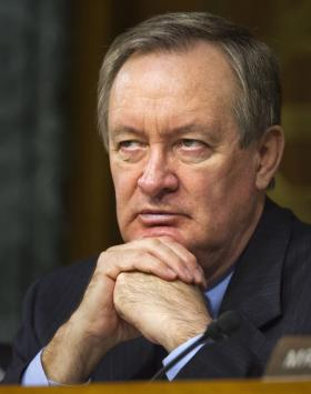 Republican Mike Crapo, Idaho, ranking member of the Senate Banking Committee.