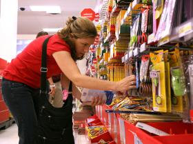 Retailers are optimistic about back to school sales because of a strengthening job market and falling gas prices.