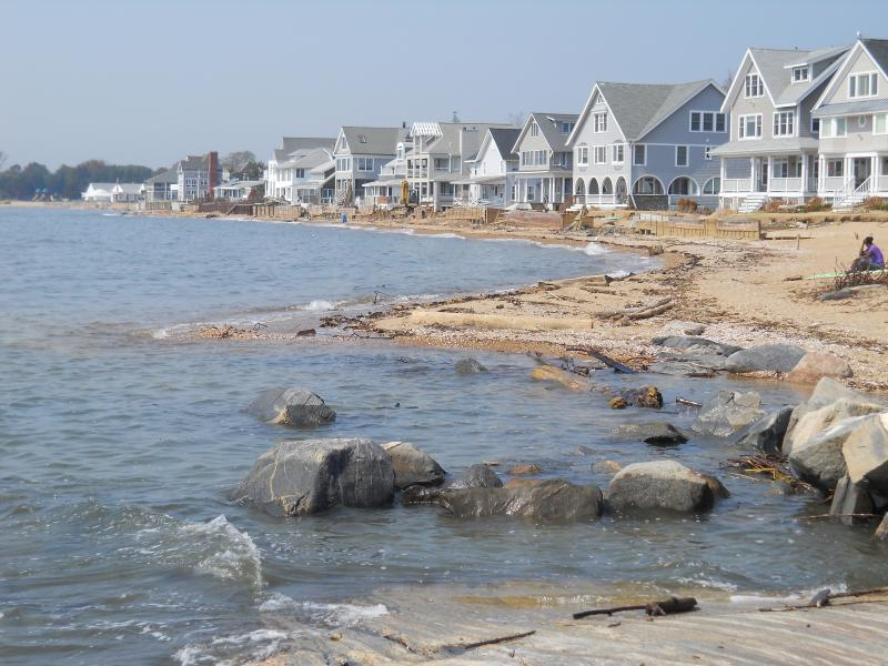 Sea walls fell and lawns collapsed in Madison after Hurricane Irene
