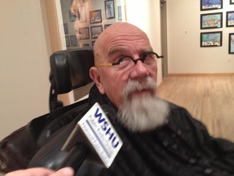 Artist Chuck Close speaks with WSHU