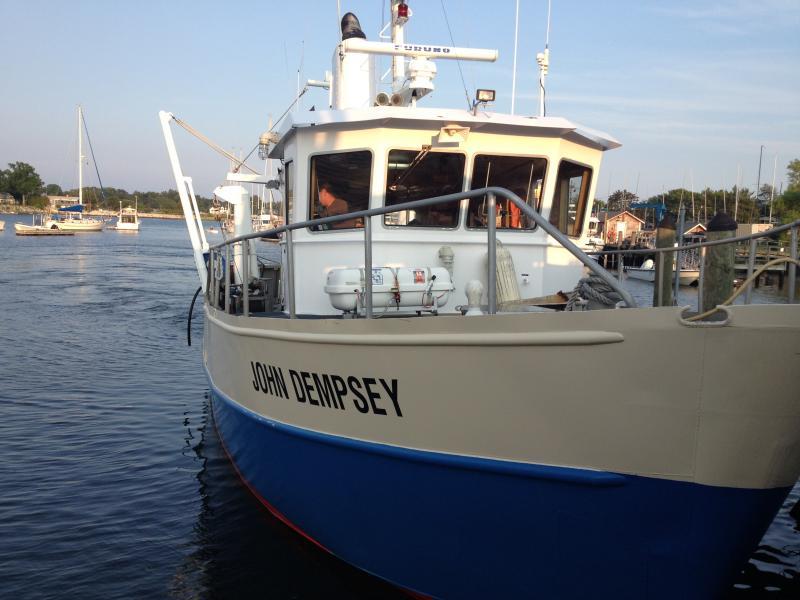 The Conn. DEEP's research vessel John Dempsey