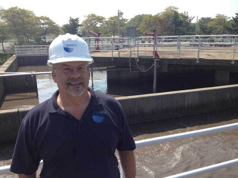 Gary Zrelak, Director of Operations for the Greater New Haven Water Pollution Control Authority