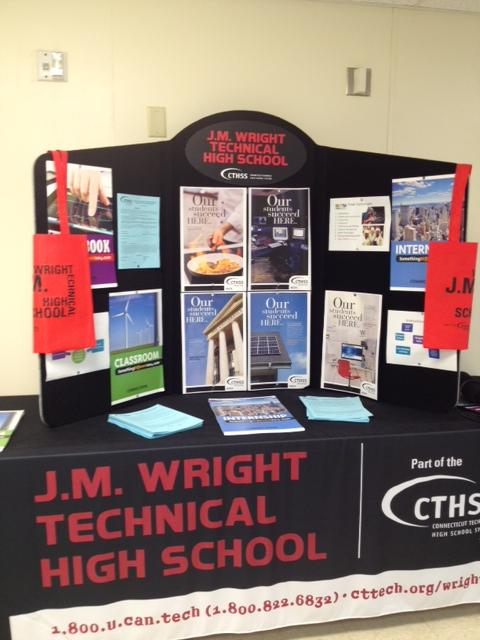 J. M. Wright Technical High School is rebranding itself to try and shake its negative past image.
