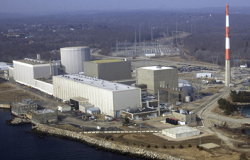 The Millstone Nuclear Power Plant in Waterford, Conn.