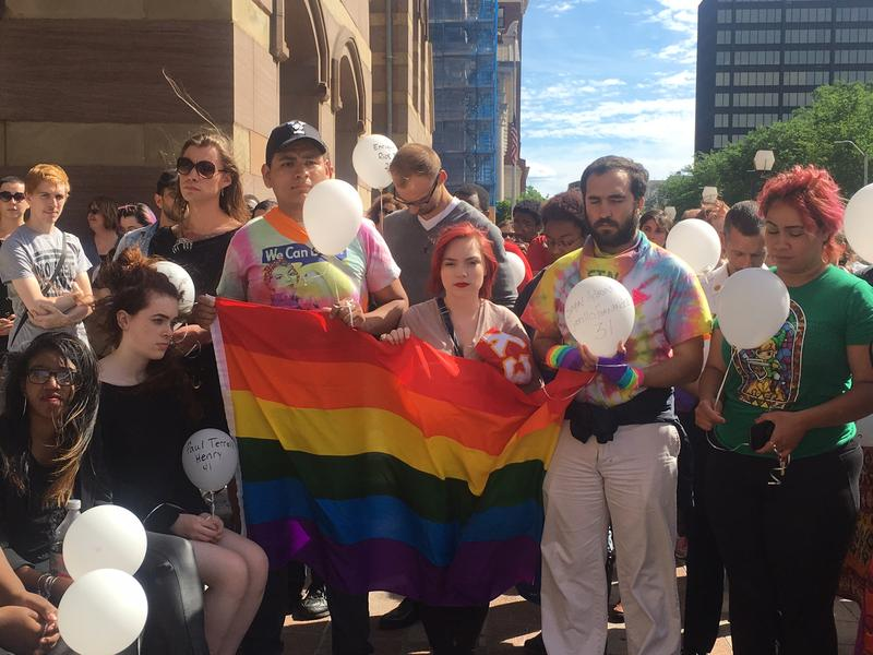 LGBTQ Speak Out for Safety, Rally for Hope