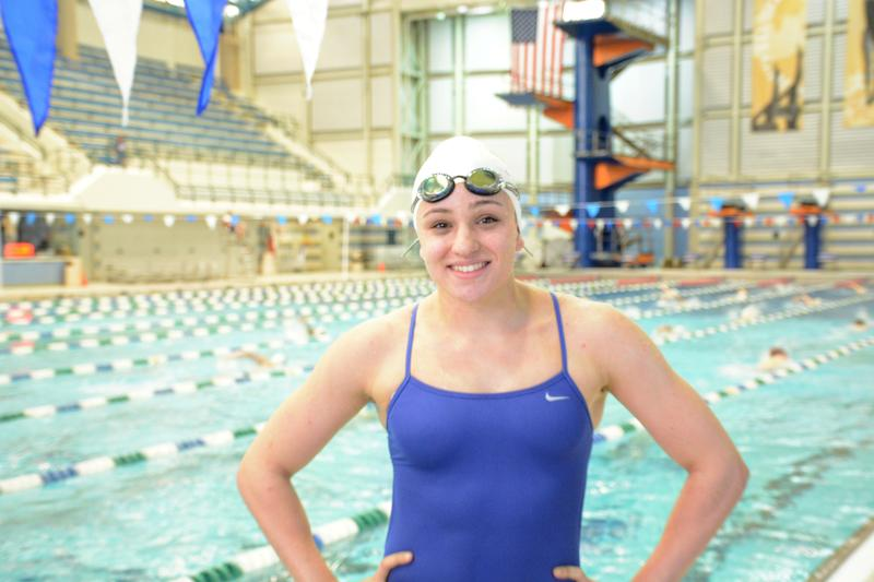 Maggie Aroesty, a 16-year-old swimmer from Long Island, is swimming more efficiently thanks to her sharkskin-inspired swimsuit. Aroesty is competing with other Olympic hopefuls this week at the 2016 U.S. Olympic Swim Trials in Nebraska.