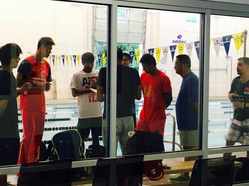 Sun Yang and Yi Shiwen are among the 50 Chinese swimmers, coaches and staff currently training at Swim Seventy in Norwalk, Conn.