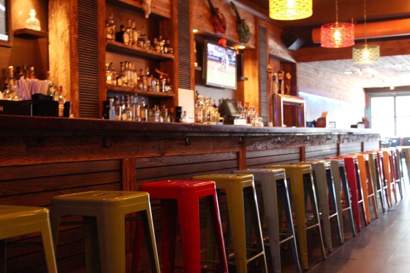 The bar at Cantina