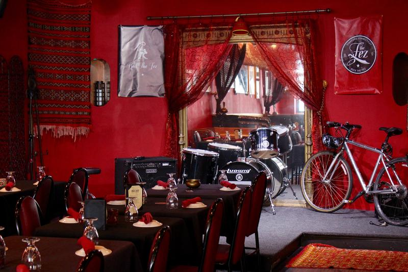 The Fez serves Moroccan food and features live music