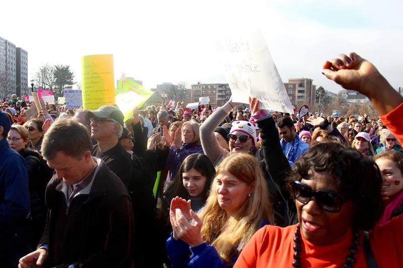 Turnout far exceeded organizers' expectations, with about one thousand expected but three thousand in attendance..