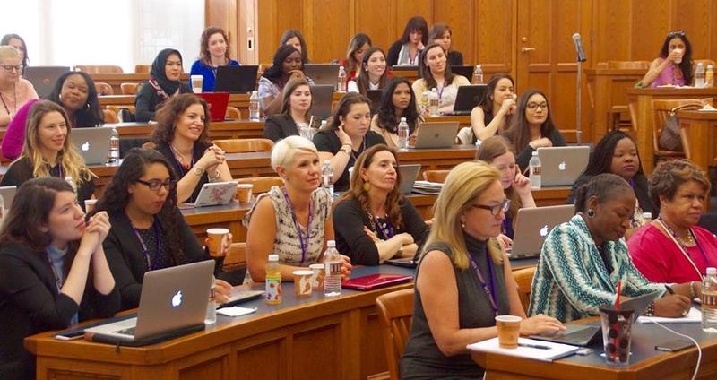 Students at the Women's Campaign School at Yale
