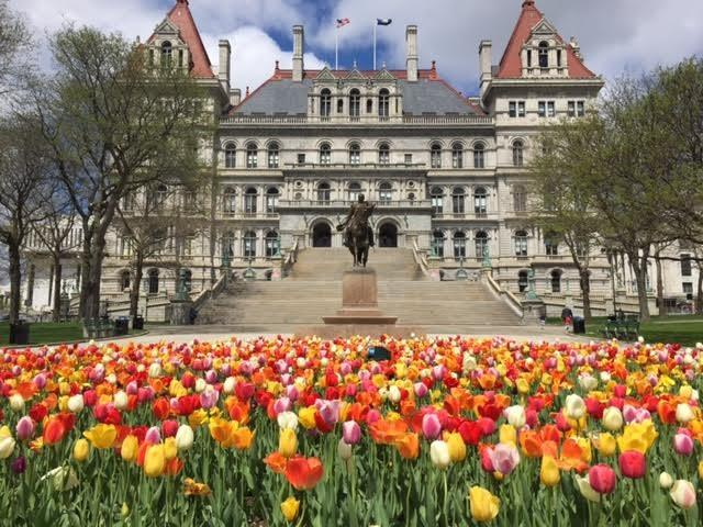 The New York State Capitol in Albany