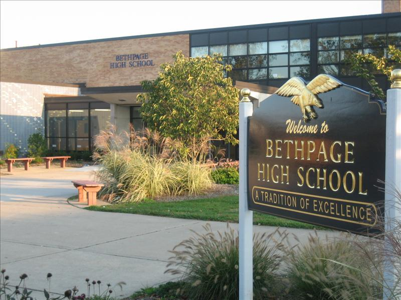 Bethpage High School in Bethpage, New York.