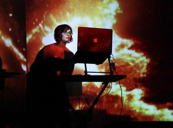 Motion graphic designer, video editor and live-performance video artist Holly Danger.