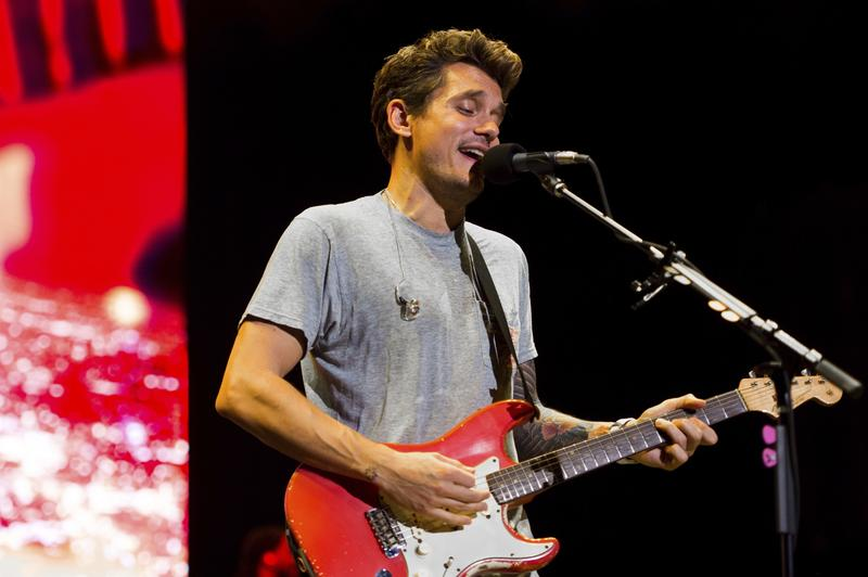 John Mayer performs on The Search for Everything World Tour at Jones Beach Theater in August in Wantagh, New York.