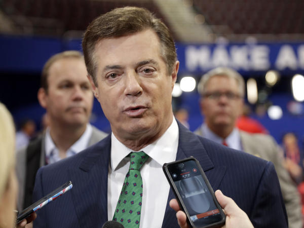 Paul Manafort, President Donald Trump's former campaign manager, surrendered to the FBI Monday morning.