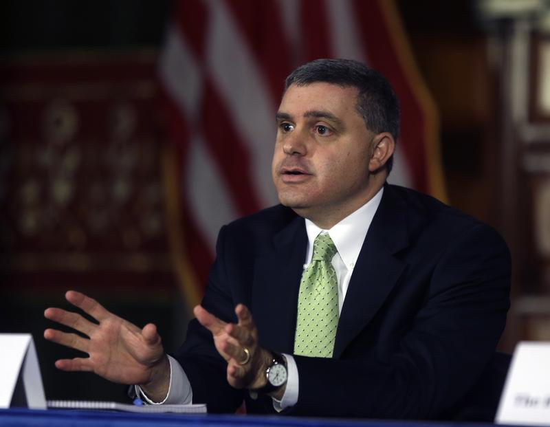 New York State AFL-CIO's Mario Cilento in Albany, N.Y., in 2013.
