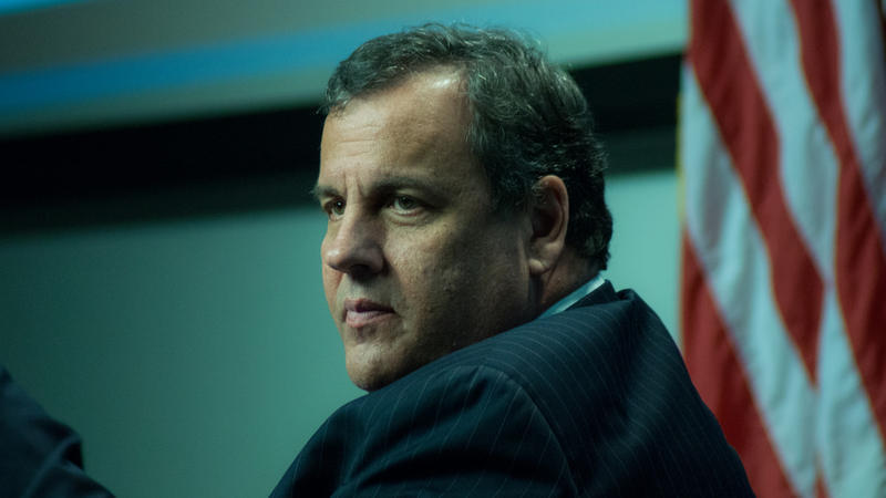 Outgoing New Jersey Governor Chris Christie.