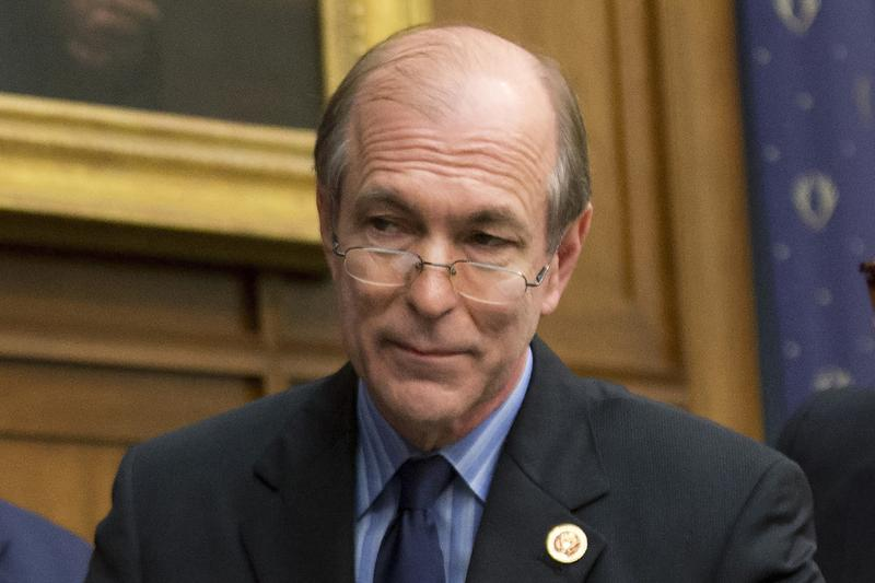 U.S. Rep. Scott Garrett, R-N.J., attends a hearing about the international financial system in Washington in 2014. President Trump nominated Garrett to lead the Export-Import Bank, but the Senate rejected his nomination.