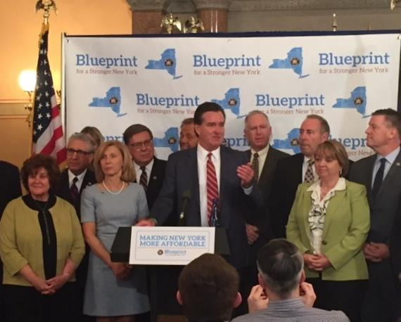 New York State Senate GOP Majority Leader John Flanagan and other Senate Republicans detail their tax cut agenda for 2018.