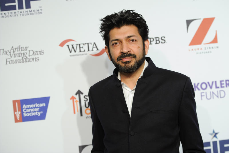 "Siddhartha Mukherjee, author and assistant professor of medicine at Columbia, at a screening of ""Cancer: The Emperor of All Maladies"" in New York. Mukherhjee will be a keynote speaker at Yale's Politics, Policy and Law of Cancer conference this week."