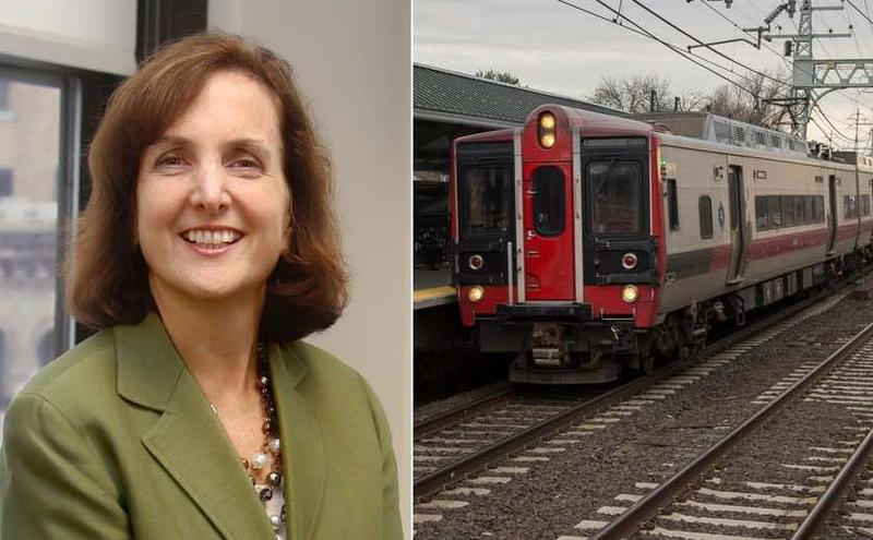 Catherine Rinaldi is the first female to lead the Metro-North Railroad.