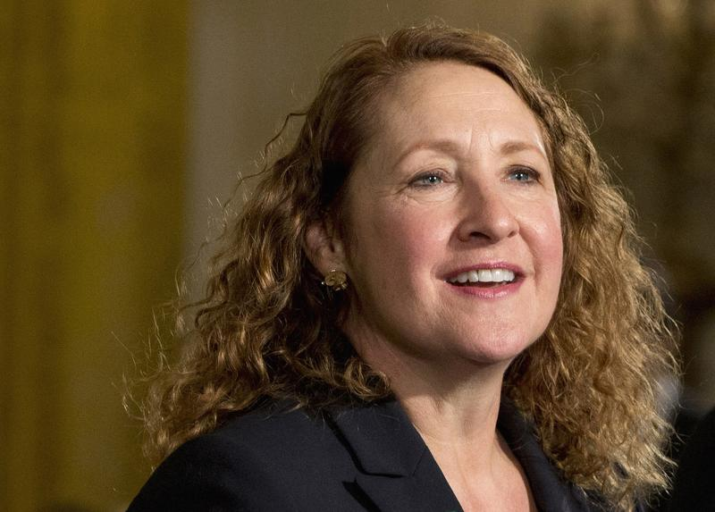 Rep. Elizabeth Esty attends a gathering at the East Room of the White House in Washington in 2016.