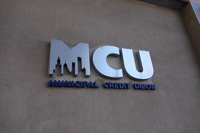A Municipal Credit Union bank in Elmhurst, Queens.