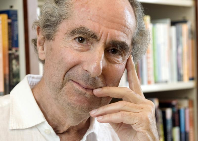 Author Philip Roth in the offices of his publisher, Houghton Mifflin, in New York in 2008. Roth, prize-winning novelist and fearless narrator of sex, religion and mortality, died Tuesday at age 85.