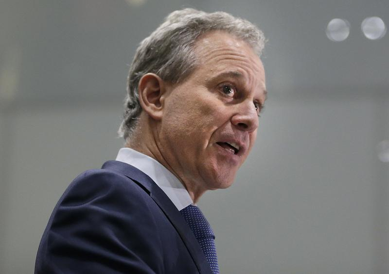 Former New York Attorney General Eric Schneiderman, who resigned earlier this month, just hours after accounts of abuse by four women.