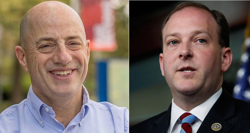 In Long Island's 1st Congressional District, two-term incumbent Republican Lee Zeldin, right, will be getting a challenge from businessman Perry Gershawn, who defeated four other Democrats in Tuesday's primary.
