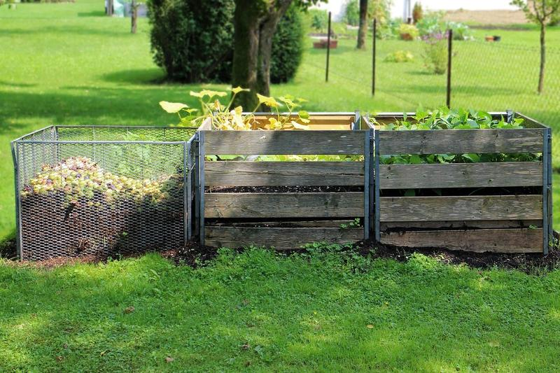 A compost garden
