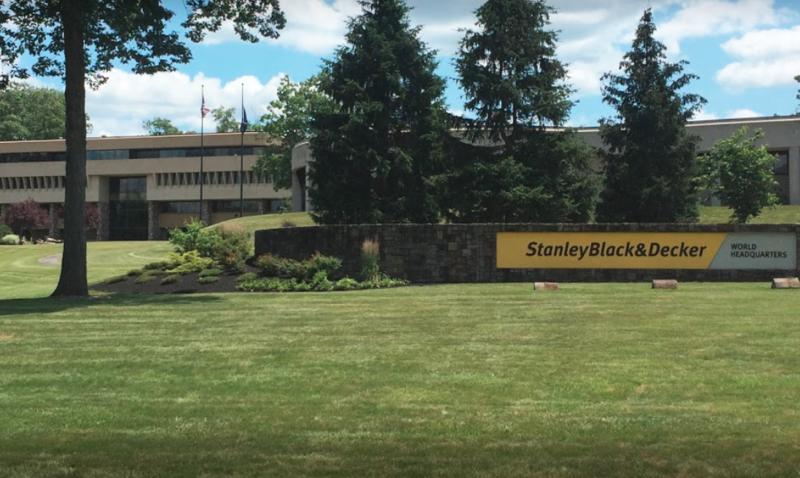 The Stanley Black & Decker campus in New Britain, Conn.