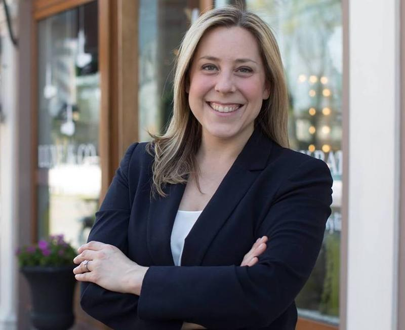 First-time candidate Liuba Grechen Shirley is challening long-time Congressman Peter King for the U.S. House in Long Island's 2nd Congressional District.