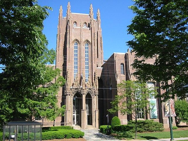 The Peabody Museum of Natural History at Yale University.