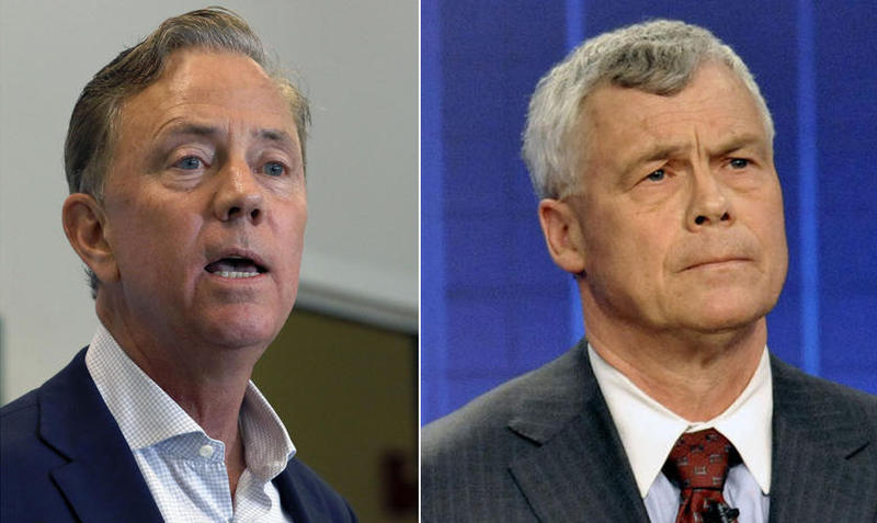 Connecticut gubernatorial candidates Ned Lamont and Oz Griebel
