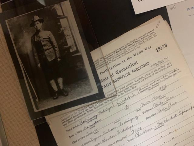 """Materials from the """"Voices of World War I"""" project at the Connecticut State Library in Hartford."""